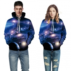 Alisister Galaxy 3D Print Hoodies With Pocket Hoodie Men Harajuku Pullover Moleton Feminino Unidex picture color s