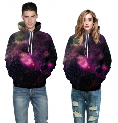 Men's Clothes Unisex Fashion 3D Galaxy Sweatshirt Printed Starry Hoodies picture color s