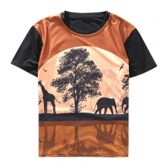 New Style Casual Men/Women 3D T Shirt Short Sleeve printed shirts T-shirts & Polos picture color s cotton