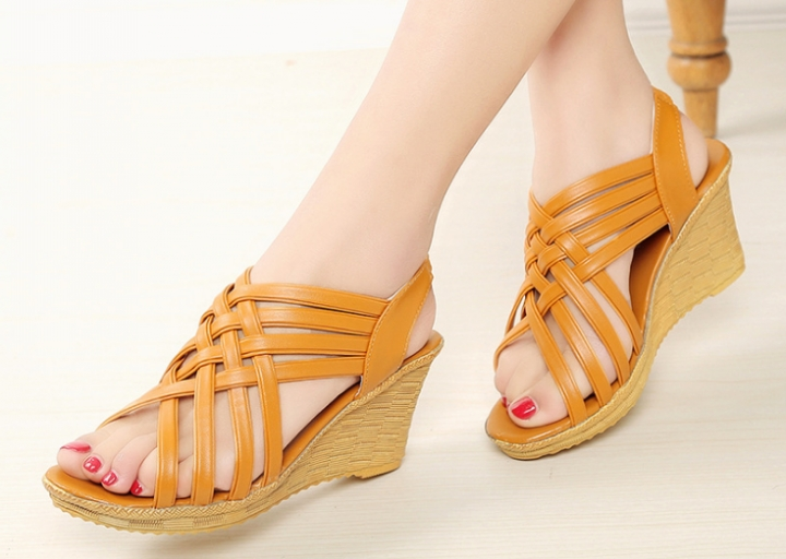 3c9b941ec Kilimall  Women s shoes summer wedges with muffin platform sandals ...