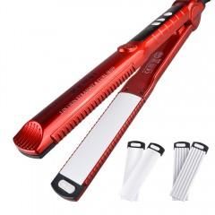 Hair curler corn clip hair curler straight hair hairdresser genuine does not hurt hair red one size