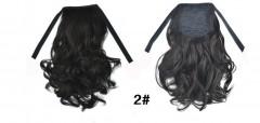 Fashion wig ponytail female short roll ponytail short hair multi2 one size
