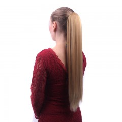 Wig female long straight hair grabbing stealth wig pony tail multi2 one size