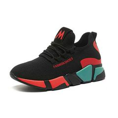 hot sales Woman Sneaker Fashion Flat ladies sneakers Sport Shoes Women Athletic red 36