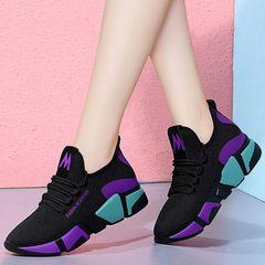 hot sales Woman Sneaker Fashion Flat ladies sneakers Sport Shoes Women Athletic purple 38