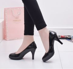 hot sales Ladies shoes New ladies high heel professional shoes women shoe black 37