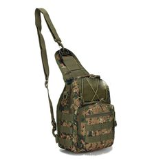 new hot sale Canvas bag sports bag straddle chest bag Multifunctional Bags GREEN