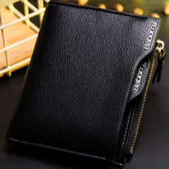 Men's new Tote Bags wallet Men's Bags card bag short wallet man Tote Bags black normal