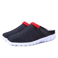 Men's Sandals & Flip Flops men's Shoes fashion men Shoes Red 44