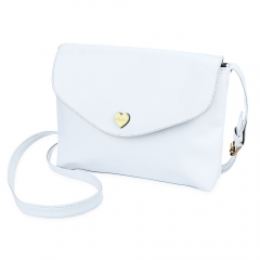 Fashion Red Women Mini Bag Vintage Female Handbags Romantic Heart Hasp Small Flap Candy Color White one size