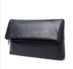 Men 's folding leisure business clutch black one size