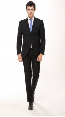 The new orthodox business men 's suits Korean Slim men' s suits suits men 's wear black m