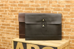 The new envelope bag hand bag retro package business casual men bag hand briefcase black one size