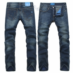 Men 's large yards straight men' s jeans trousers as the picture 32