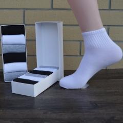 summer men's casual socks cotton socks with box