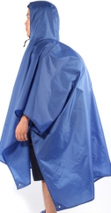 Multi-functional backpack raincoat rain Phuket mountain raincoat can do moisture pad as the picture