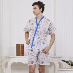 Disposable Non-woven fabric men's massage Sauna Bath clothes white one size