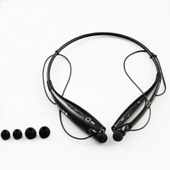 Wireless Sports Bluetooth Headphone Earphones Headset Handsfree Calls mp3 play for phone computer black
