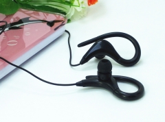 Running Sports Ear Hook Earphone Super Bass Earphones Music Headset Hifi Earbud 3.5mm aux for Phone black