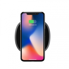 Wireless Charger Qi Certified Wireless Charging Pad, 7.5W for iPhone X 8 8Plus GREY 102mm*102mm*7.5mm