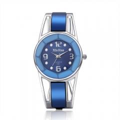 Fashion Wire Retro Bracelet Casual Fashion Watch bule