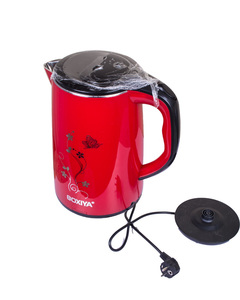 Boxiya Electric Kettle - 2.5 Litres - Red red