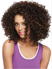 Curly Wig Synthetic Hair for Black Women 40 CM Length 2 40CM