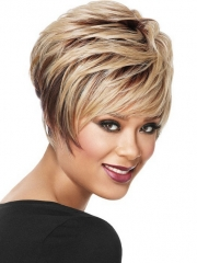 Natural Synthetic Curly Wigs For Women 1 short hair
