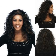 Afro Women Sexy Medium-long Kinky Curly Synthetic Wig Hair 1 long hair