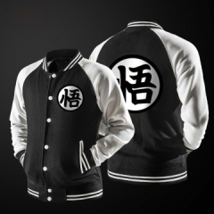 Seven Dragon Ball Wu Jackets Baseball clothing 9290 black s