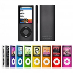 High quality FM Radio Video MP3 MP4 Music Player with Earphone blue