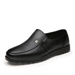 Luxury Brand Men Shoes High Quality Business Derby Shoes Men Wedding Shoes Men Dress black 39