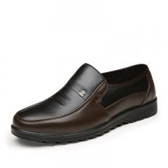 Luxury Brand Men Shoes High Quality Business Derby Shoes Men Wedding Shoes Men Dress brown 43