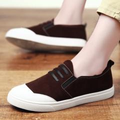 2017  Men Women Shoes Canvas Casual Shoes Fashion Low Flats Breathable Shoes Men Lace Up Shoes brown 39