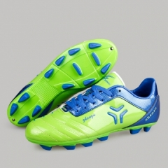 2017 Professional Men's Sports Beathable Soccer Shoes Running Football Shoes blue 37