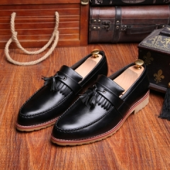 2017 Designer Luxury Brand Wedding Shoes Party Dress Genuine Leather Flats Shoe black 39