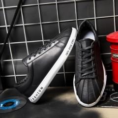 2017 New Arrival Spring Men Casual Shoes Leisure Vintage Style Handsome Designer black 39