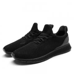 Autumn Men's SUPER LIGHT Mesh Running Shoes Sneakers Breathable Soft black 39