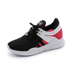2017 Spring Autumn Women's Running Shoes Breathable Sneakers Light Sports Shoes black 35