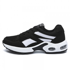 Running Shoes Women Sneakers Lightweight Female Outdoor Athletic Air Cushion Trainers Shoes black 35