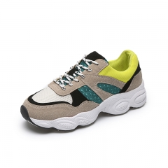 New Women Light Sneakers Summer Breathable Female Running Shoes Lady Trainers Walking Outdoor green 35