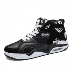 Big Size Professional Men Basketball Shoes Sport Sneakers Outdoor Basket Running Shoes black 38