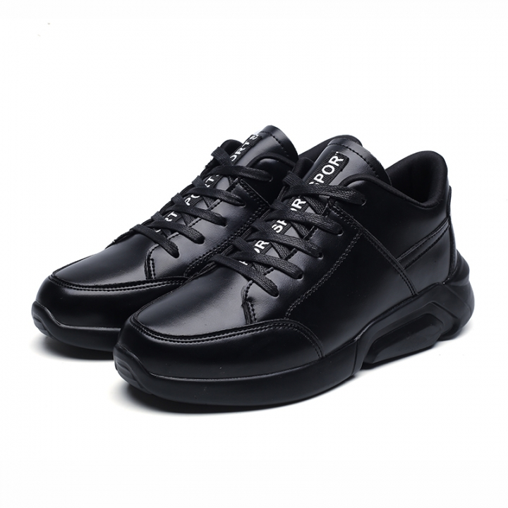 Men Running Shoes Lace Up Athletic Shoes Outdoor Walkng jogging Sneakers Comfortable Fast black 39