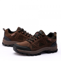 High Quality Hiking Shoes Winter Outdoor Mens Sport Cool Trekking Mountain Climbing Athletic Shoes brown 38