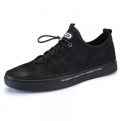 Walking Sneakers Men Trainers Jogging Shoes Sport Running 2018 Student Street Style Cool Handsome black 39