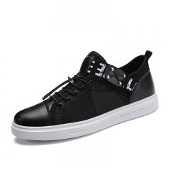Vintage Retro Gentleman Exotic Men Casual Shoes Moccasins Soft Flat Driving Loafers Hip Hop Cool black 39