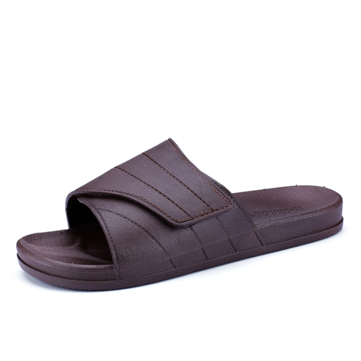 Summer Outdoor Open-toed Sandals Slides Shoes High Quality Beach Shoes Casual Cool Rubber brown 40