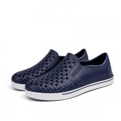 Casual Water Slippers Summer EVA Clogs Men Slip On Garden Shoes Beach Holes Sandals For Men black 45