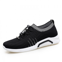 Luxury Brand Summer Men Breathable Sport Shoes Tennis Athletic Soft Sneakers Comfortable Running black 39