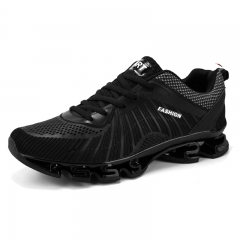 Summer Blade Running Shoes Men Light Breathable Mesh Walking Sports High Quality Outdoor black 39